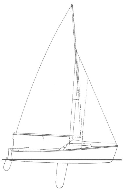 EXPLORER 17 (SAILSTAR) drawing