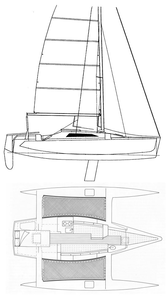 F-27 drawing on sailboatdata.com