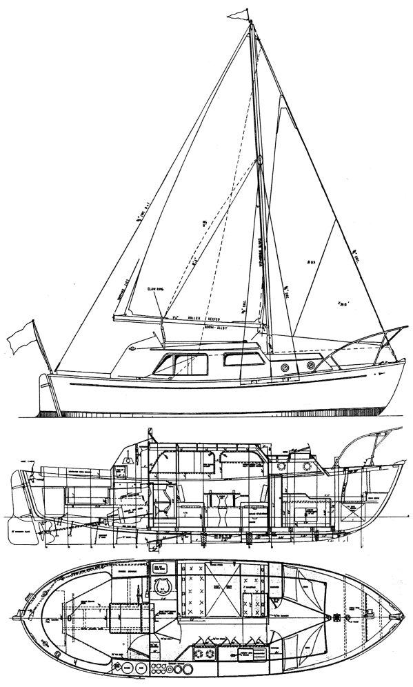 FAIREY FISHERMAN 27 drawing