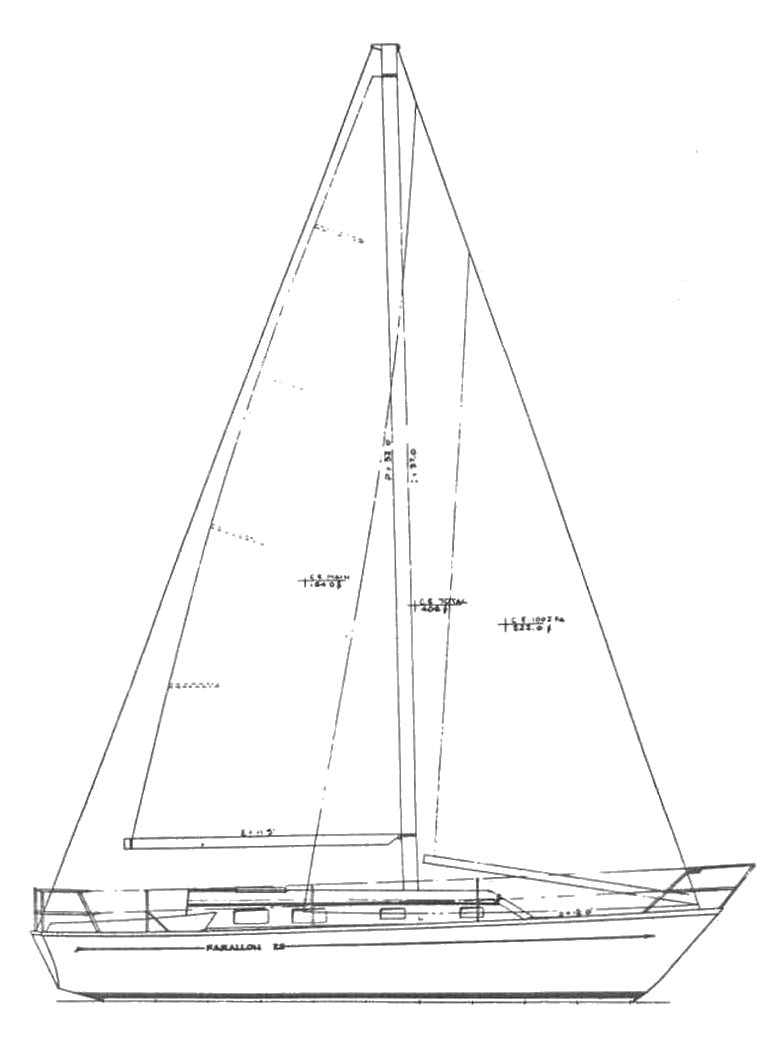 FARALLON 29 drawing