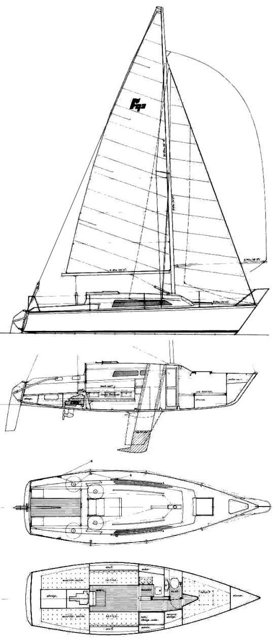 FARR 9.2 sailboat specifications and details on