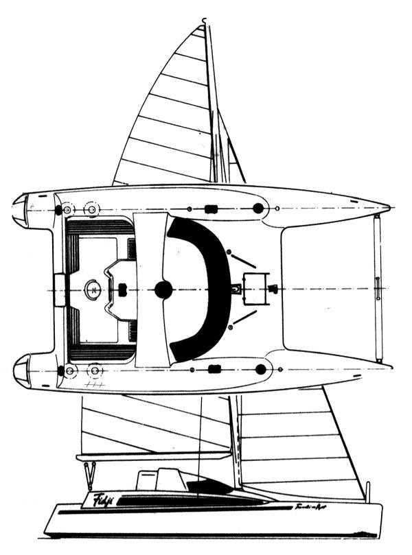 FIDJI 39 drawing