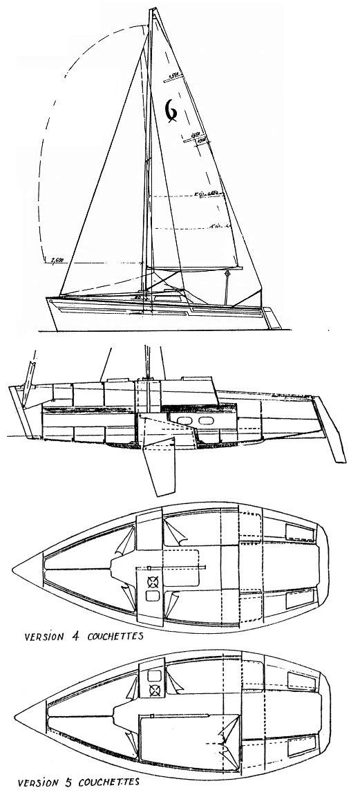 FIGARO 6 (HERULOT) drawing