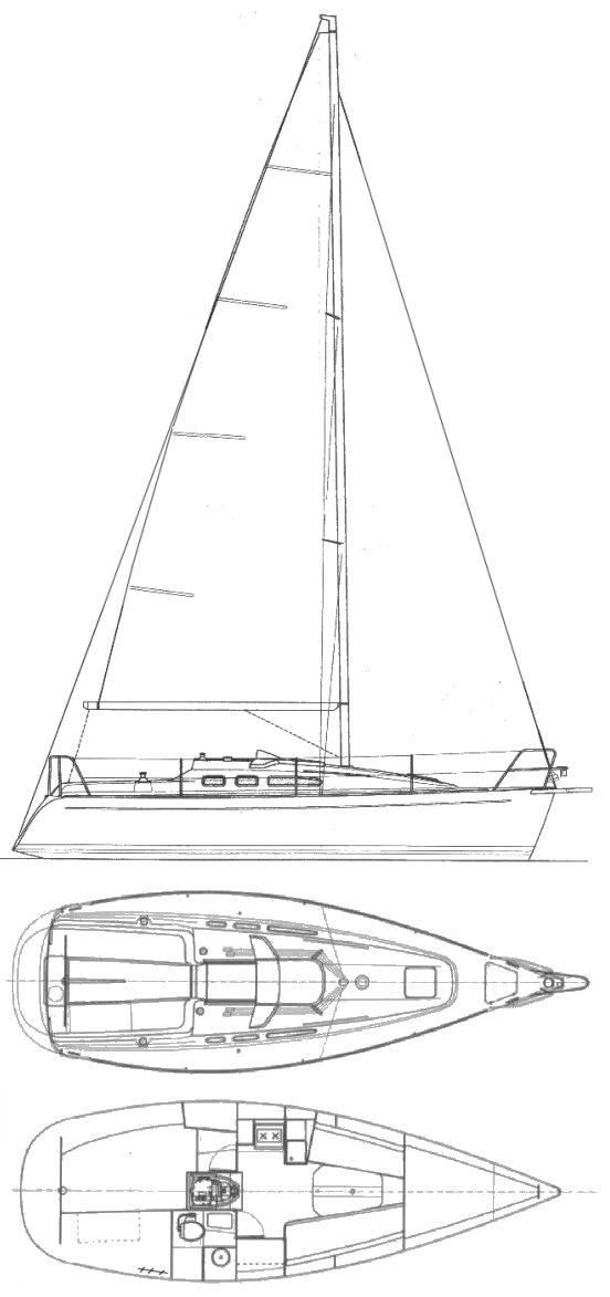 FINNGULF 28E drawing