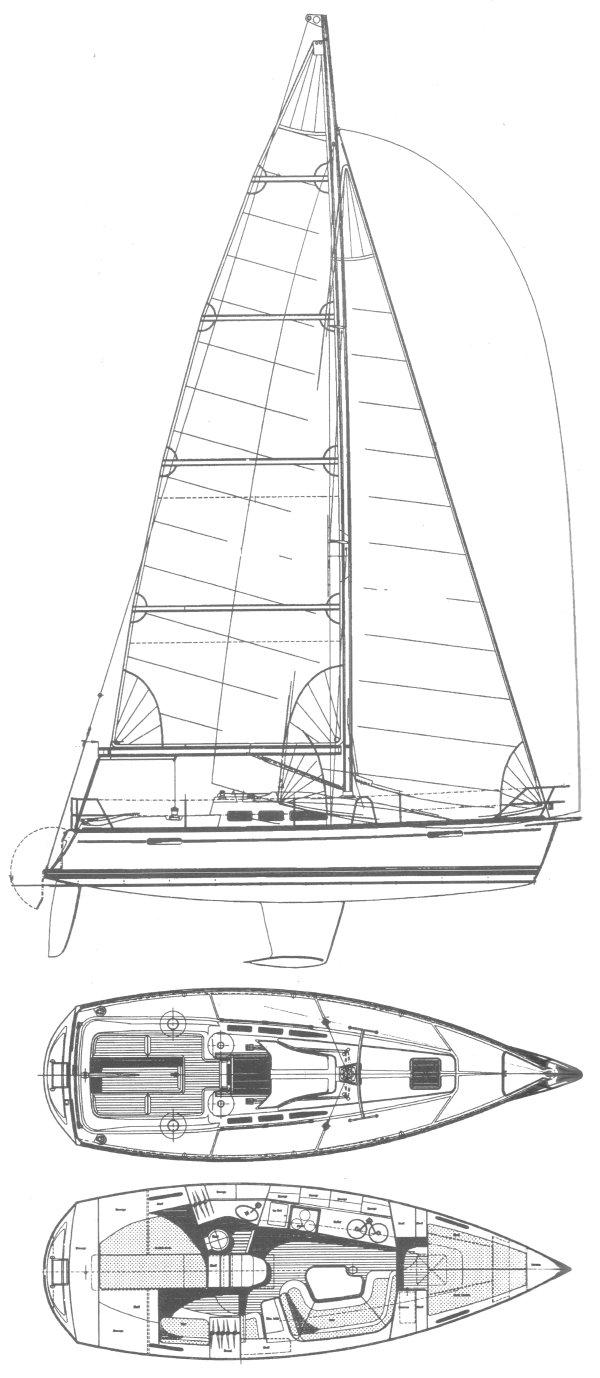 FINNGULF 335 drawing