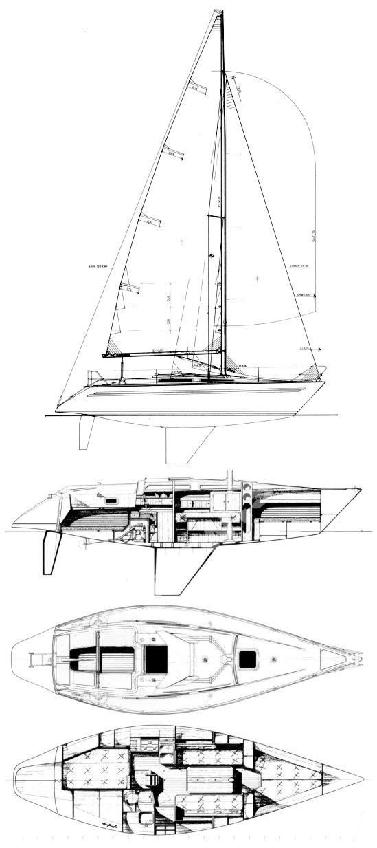 FINNGULF 34 drawing