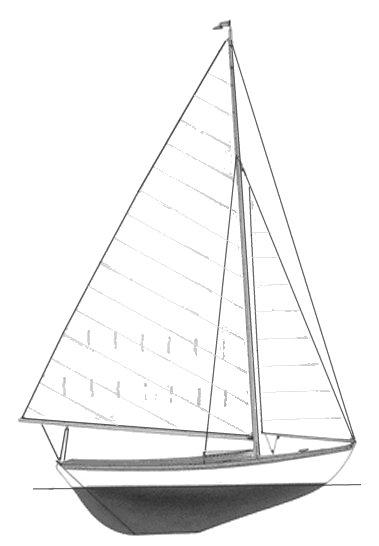 FISH (HERRESHOFF) drawing