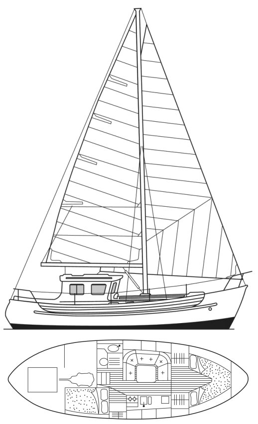 FISHER 34 MS drawing