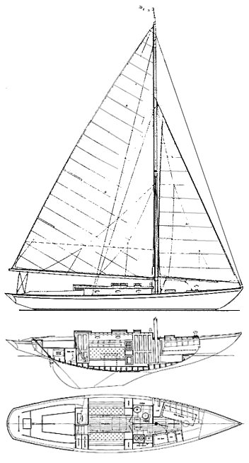 FISHERS ISLAND 31 drawing