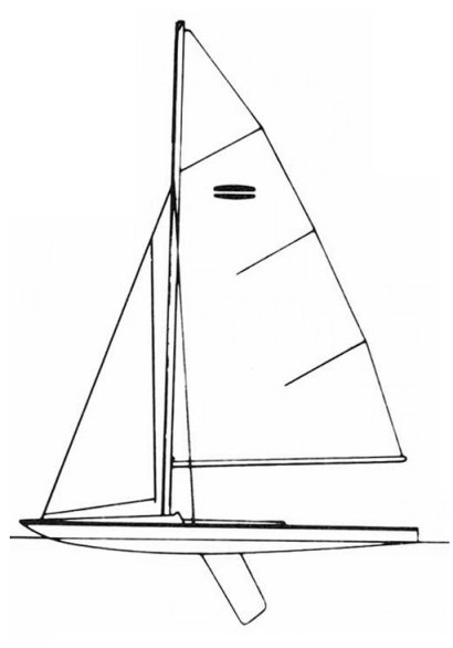 Flying Saucer (O'Day) drawing on sailboatdata.com
