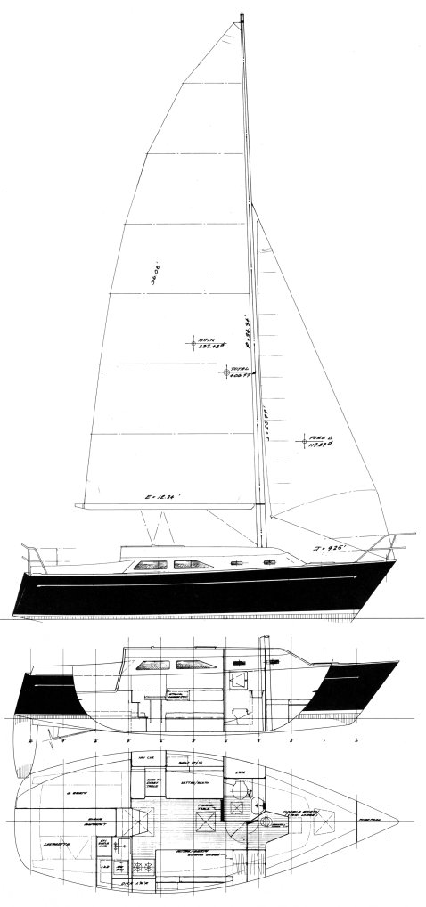 FREEDOM 28 (MULL) drawing