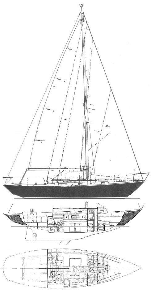 FRIGATE 36 (C&C) drawing