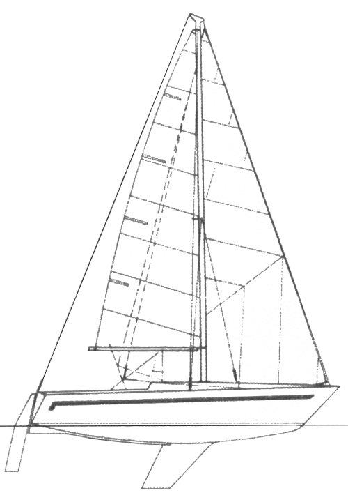 FURIA 1/4 TON (SATARELLI) drawing