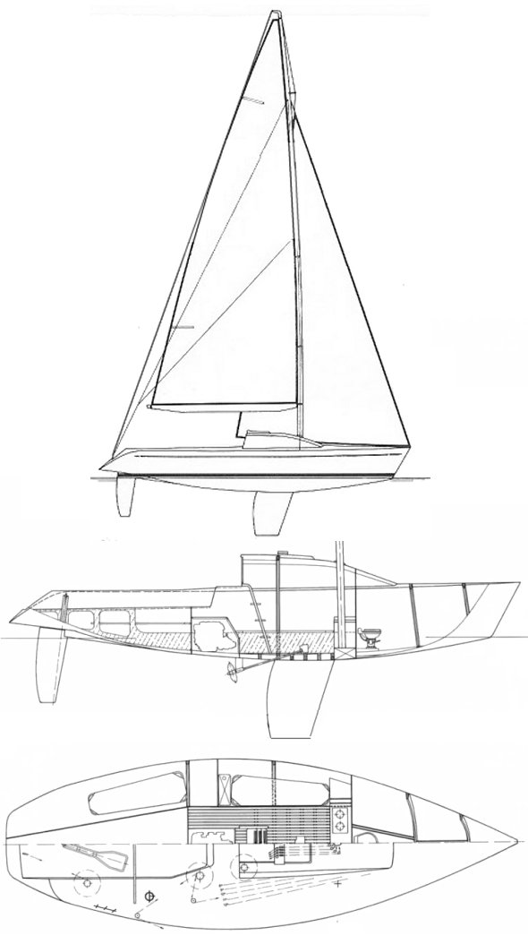 GALLART 3/4 TON drawing