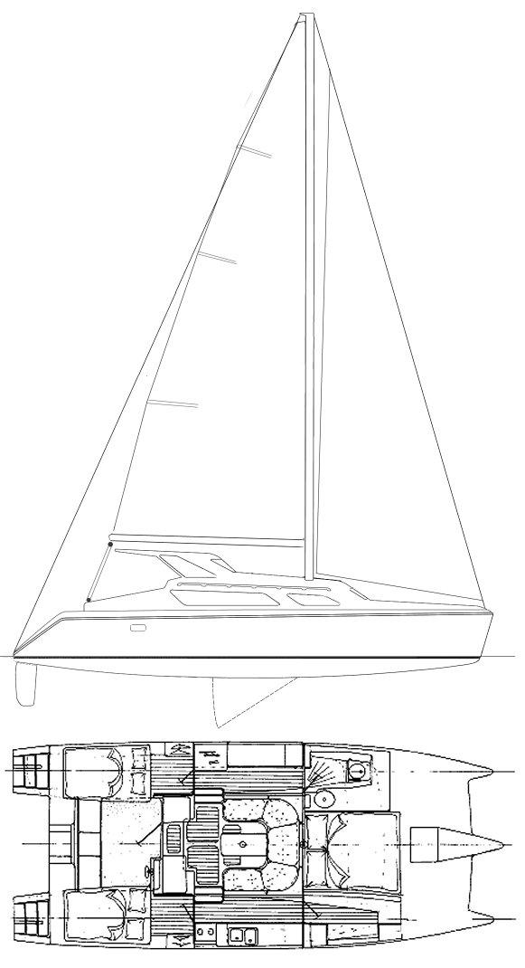 GEMINI 105MC drawing