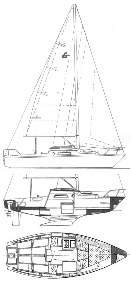 Ghibli drawing on sailboatdata.com