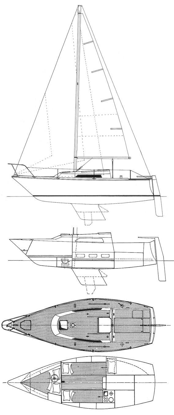 GIB'SEA 24 drawing