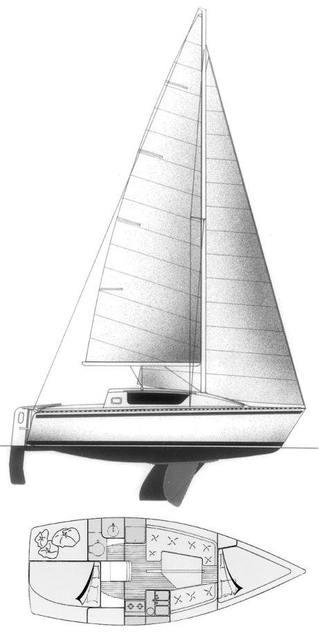 GIB'SEA 262 drawing