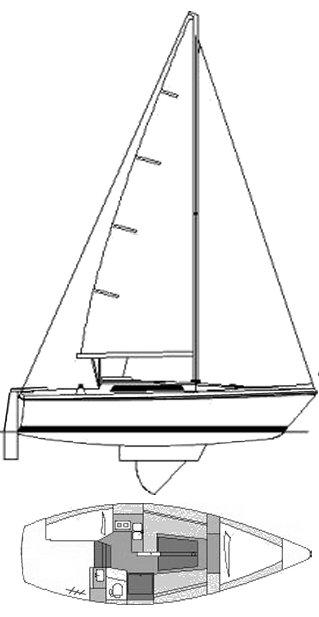 GIB'SEA 28 drawing