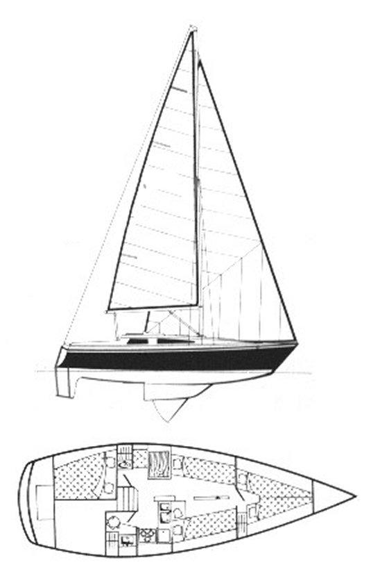GIB'SEA 31 drawing