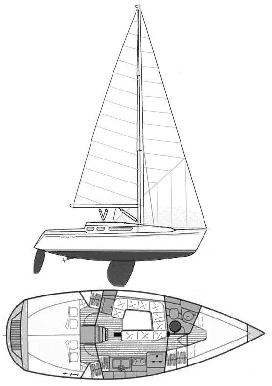 GIB'SEA 334 drawing