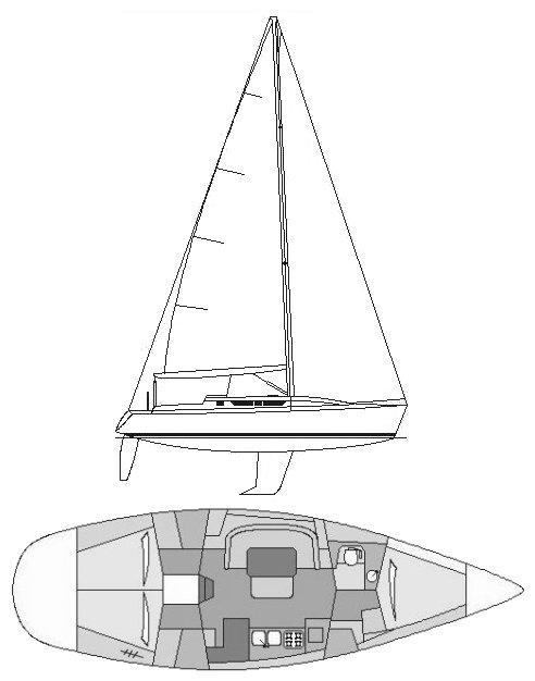 GIB'SEA 414 drawing