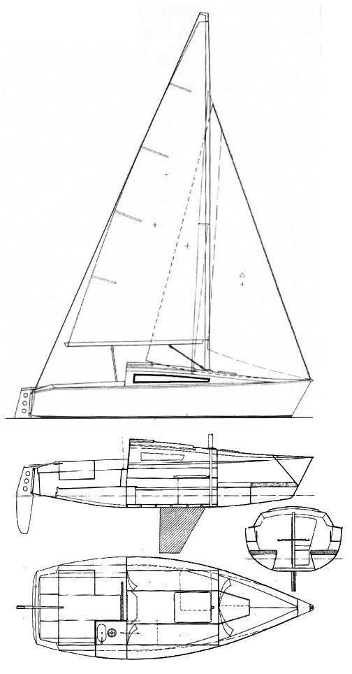 GIB'SEA 68 drawing