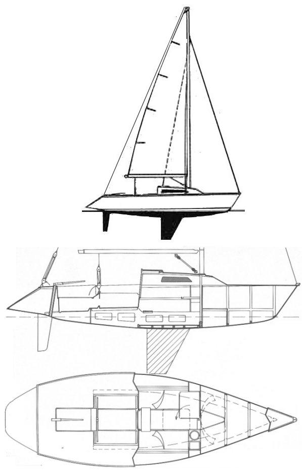 GIB'SEA 80 PLUS drawing