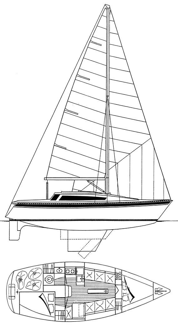 GIB'SEA 84 drawing