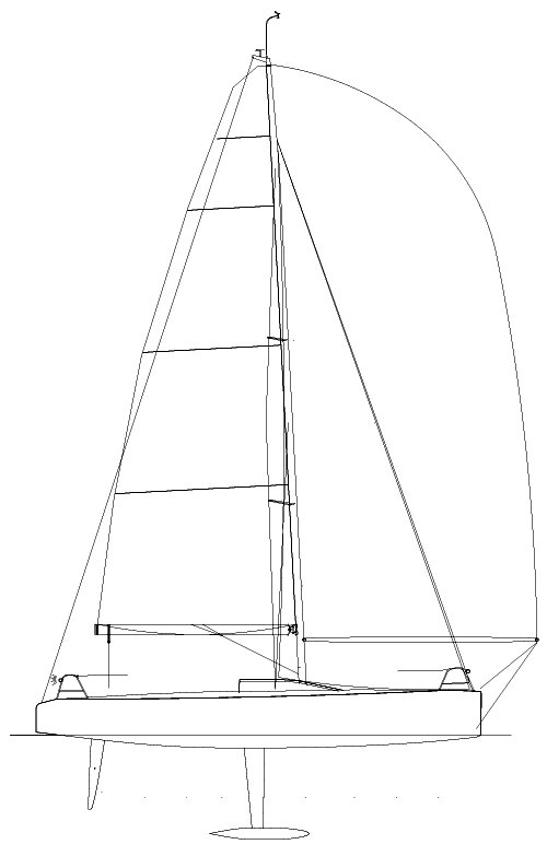 GP 42 (ORC) sailboat specifications and details on