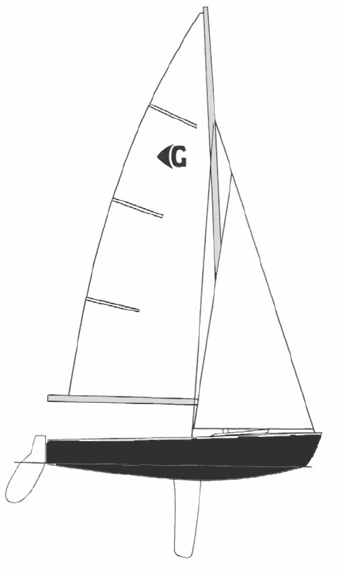 Graduate drawing on sailboatdata.com