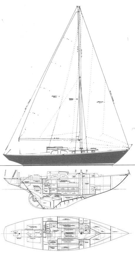 GRAMPIAN CLASSIC 37 drawing