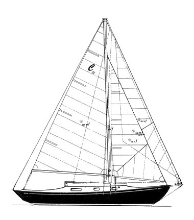 Grampian Classic 31 on sailboatdata.com