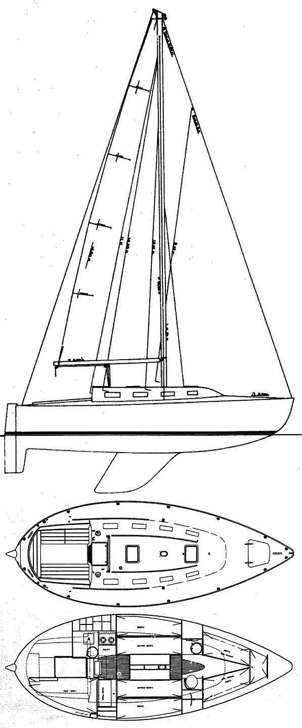Keelboat Drawing