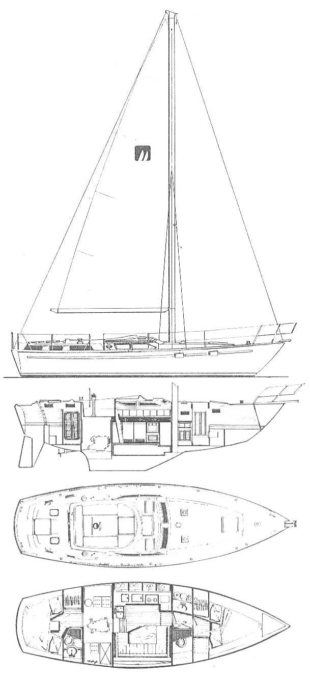 GULFSTAR 40 (CC) drawing