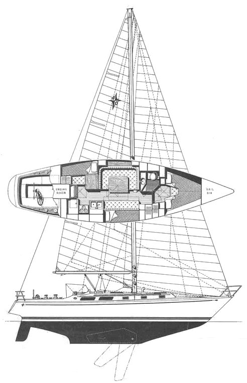 GULFSTAR 40 (HOOD) drawing
