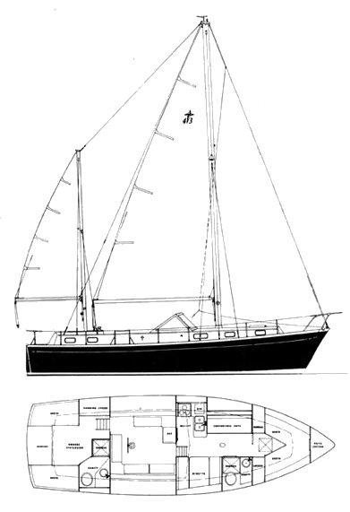 GULFSTAR 43 drawing