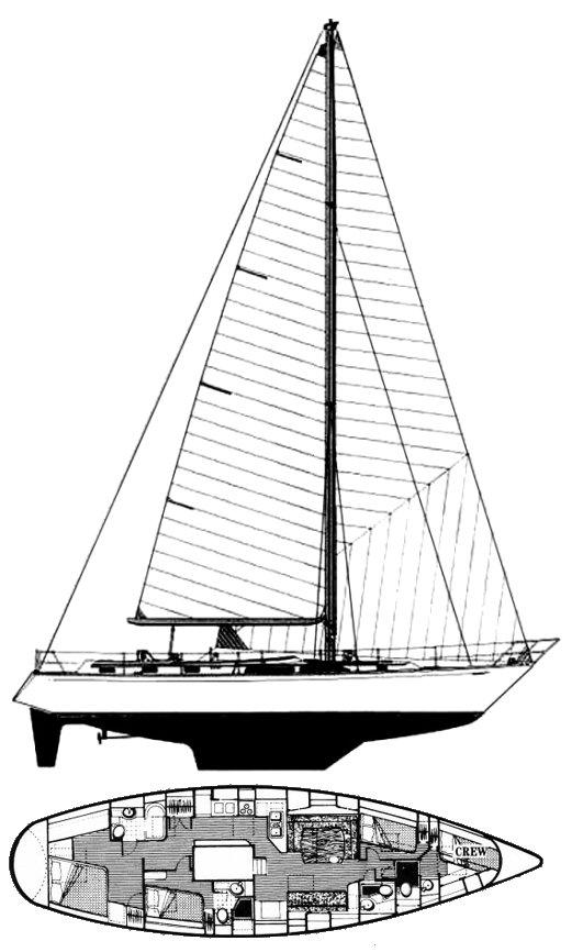 GULFSTAR 60 drawing