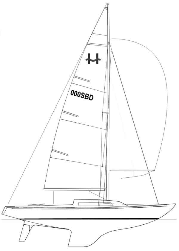 H-BOAT drawing