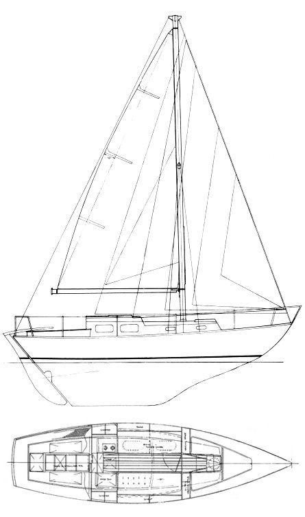 HALCYON 27 drawing