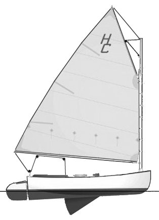 Handy Cat 14 drawing on sailboatdata.com