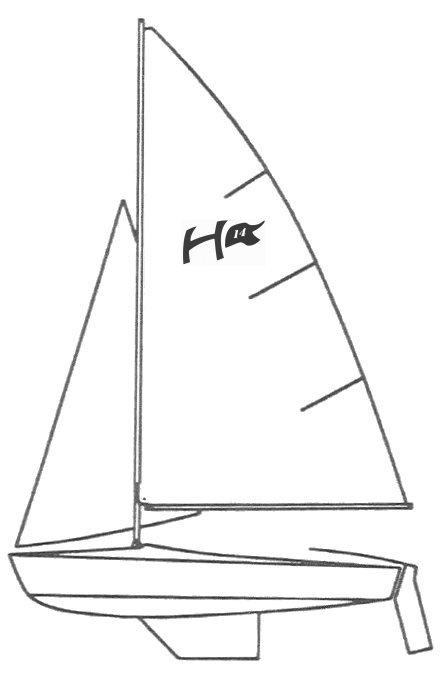 HARBOR 14 (SCHOCK) drawing