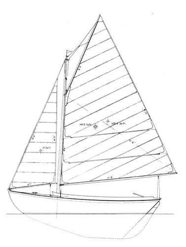HERRESHOFF 12 1/2 drawing