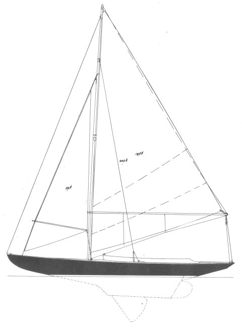 HERRESHOFF 15 drawing
