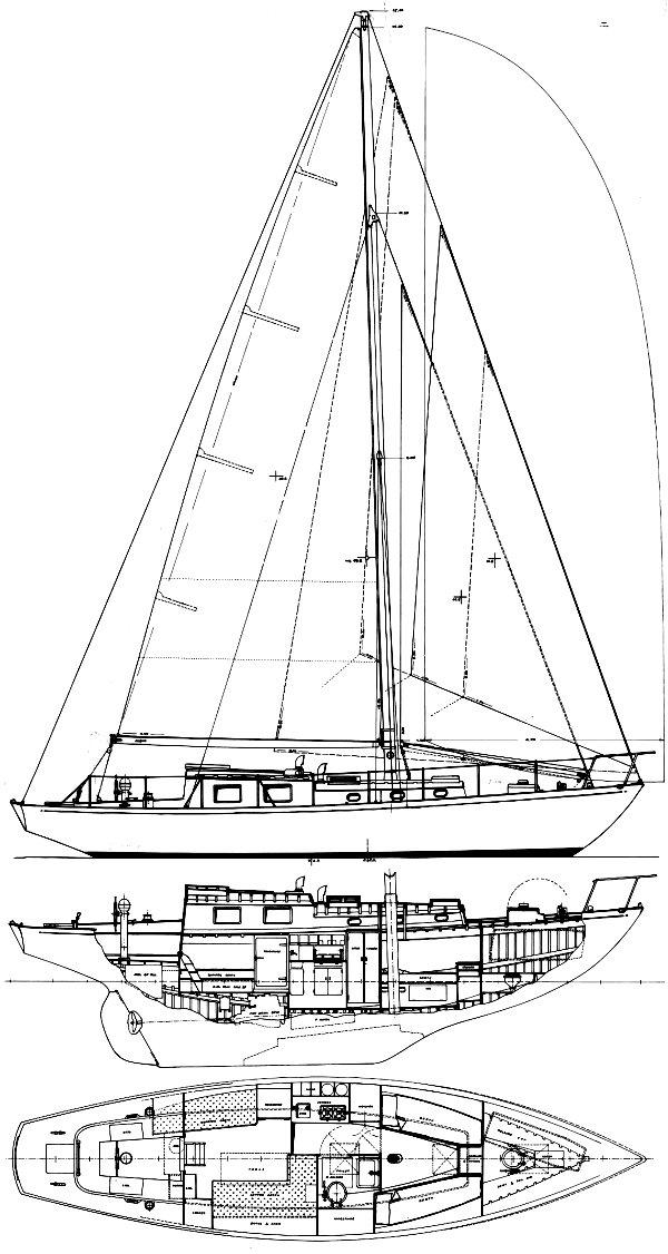 HISPANIOLA 38 drawing