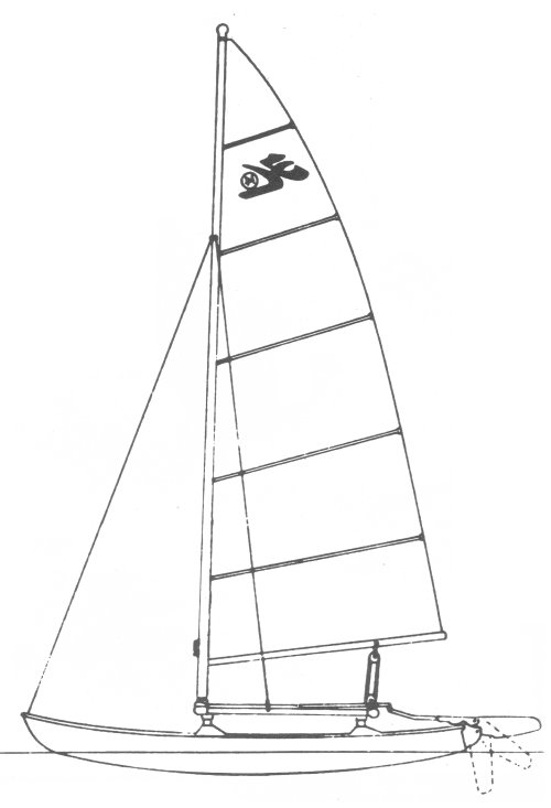 HOBIE 14 sailboat specifications and details on sailboatdata.com