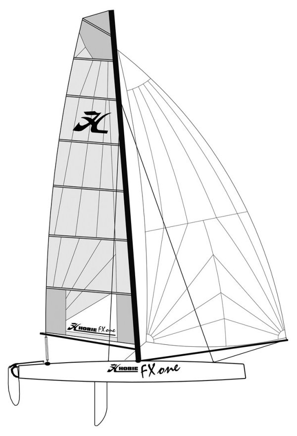 HOBIE FX ONE drawing