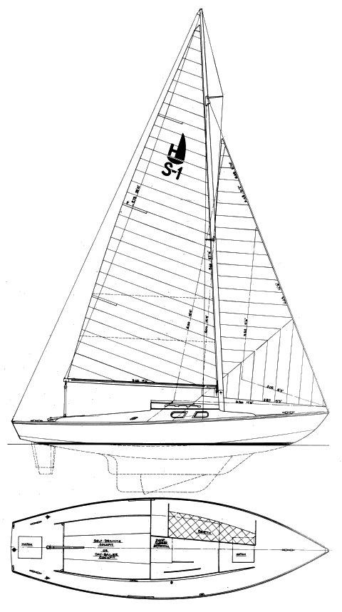HOLIDAY 24 (SAILOR) drawing