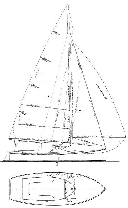 SEA BIRD 18 (HULL SEA BIRD) drawing