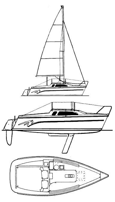 HUNTER 19-2 drawing